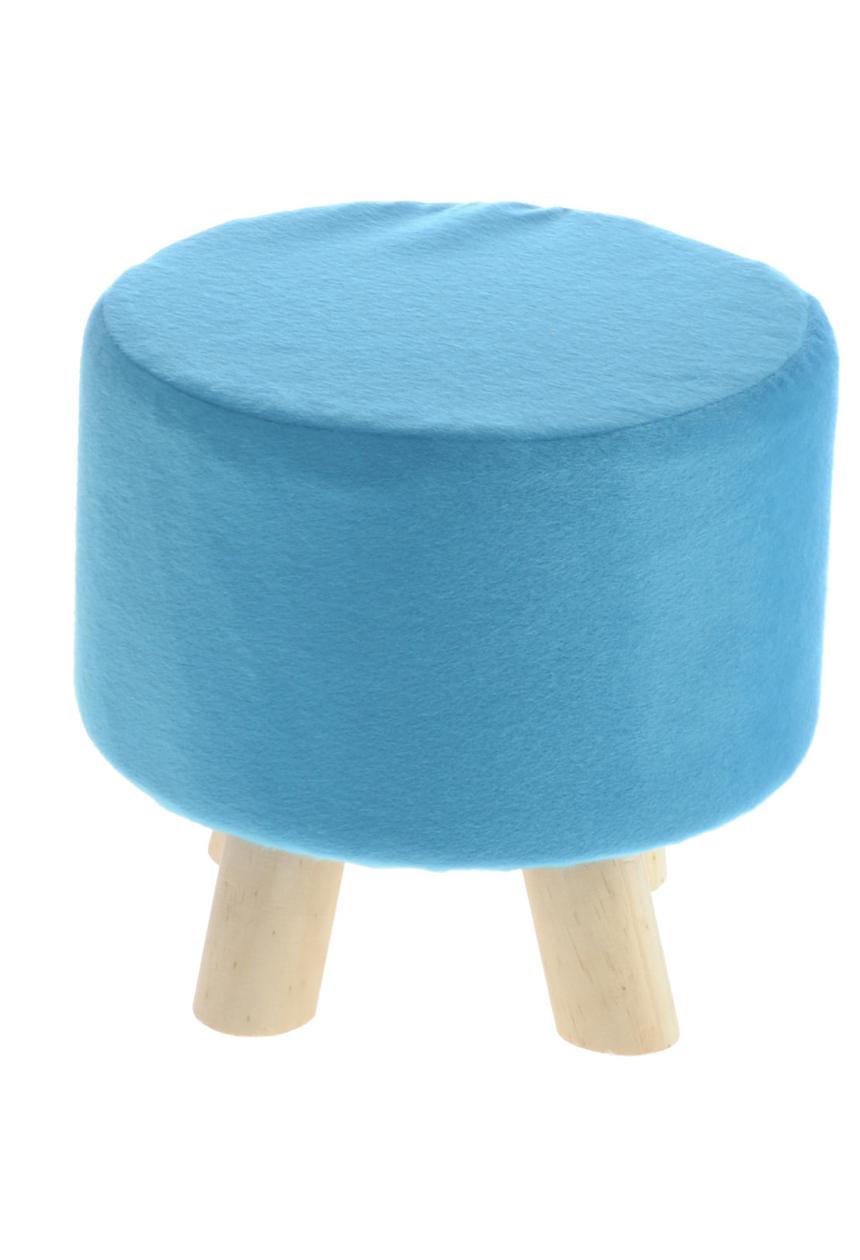 Pufa, stołek do siedzenia lub podnóżek do salonu, pokoju dziennego i dziecięcego o unikalnym wzorze