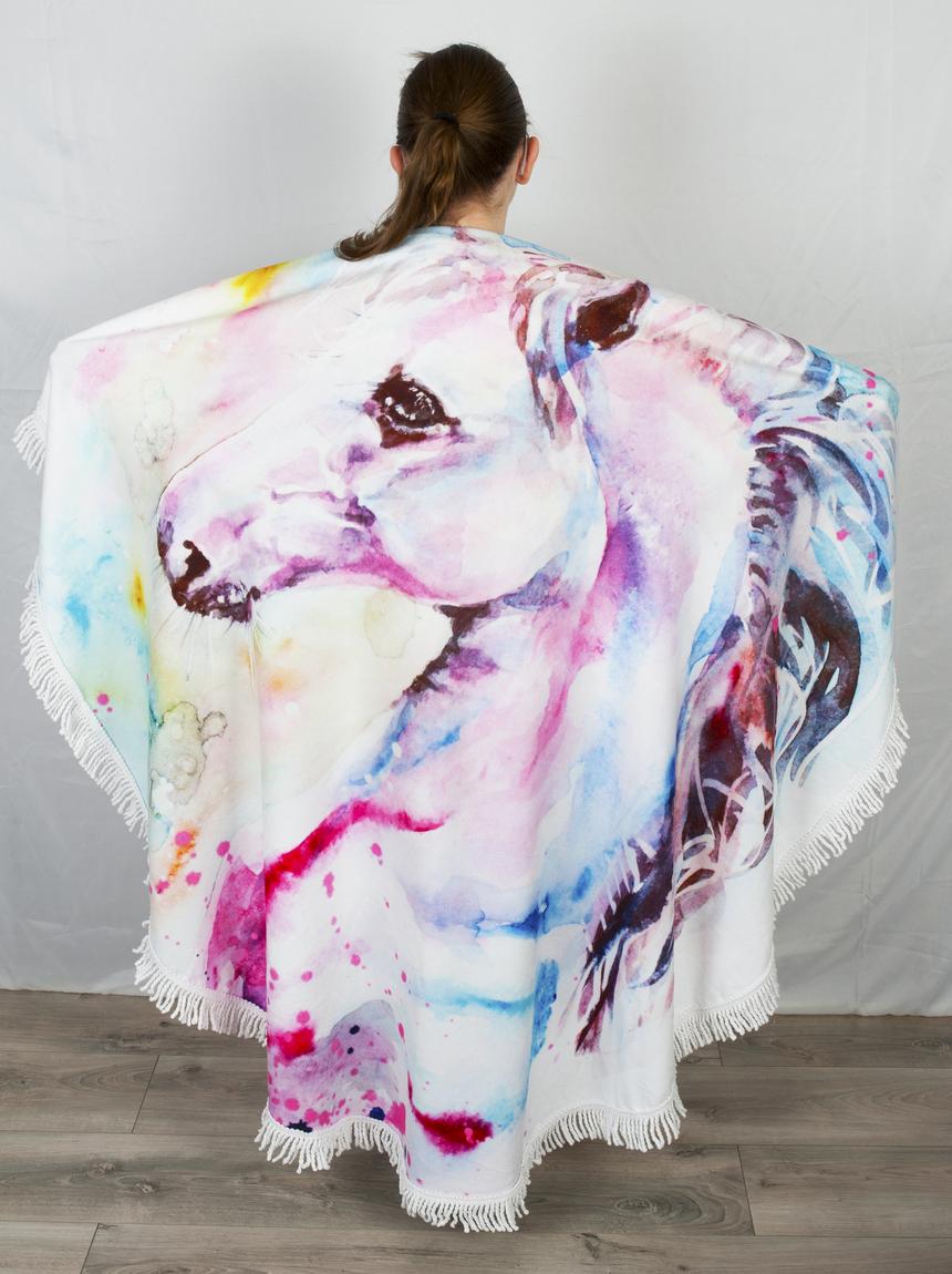 Ręcznik w STYLU BOHO. Szybkoschnący materiał