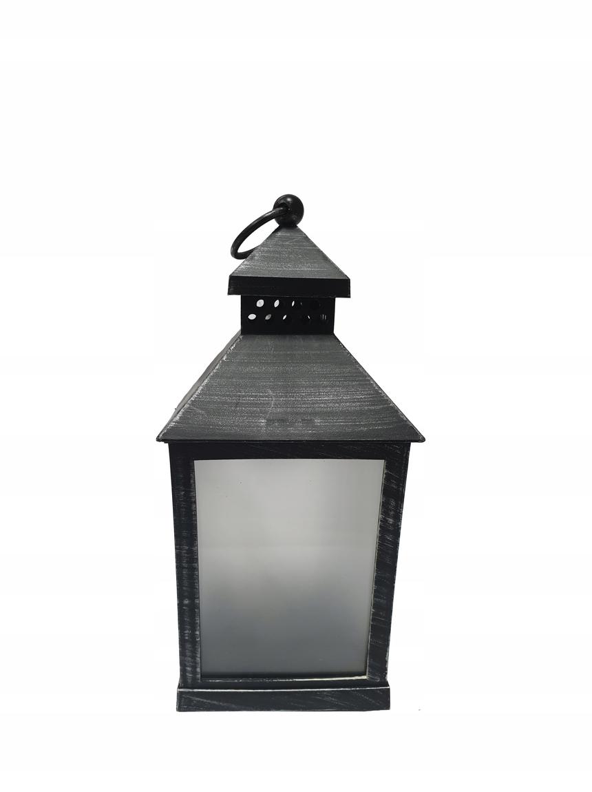 ZNICZ LAMPION LATARNIA ŚWIECZNIK świeca Dioda LED